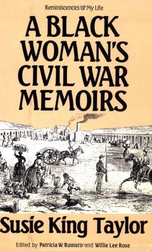 Black Woman's Civil War Memoirs   1988 edition cover