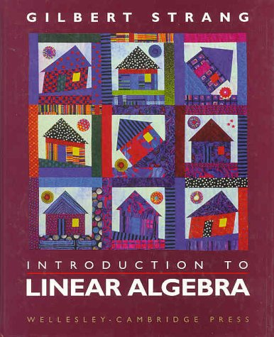 Introduction to Linear Algebra 2nd 1998 edition cover