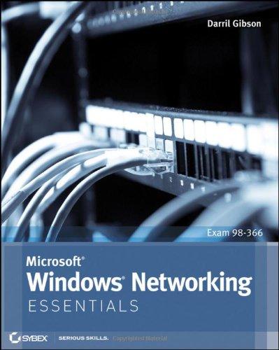 Microsoft Windows Networking Essentials   2011 edition cover
