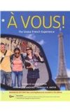 A Vous!: The Global French Experience  2013 edition cover