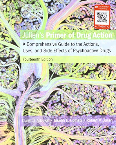 Julien's Primer of Drug Action:   2018 9781319015855 Front Cover