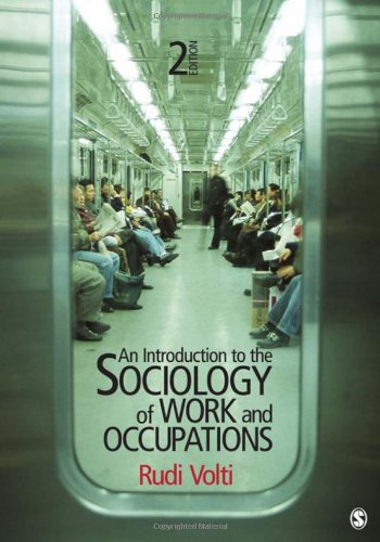 Introduction to the Sociology of Work and Occupations  2nd 2012 edition cover