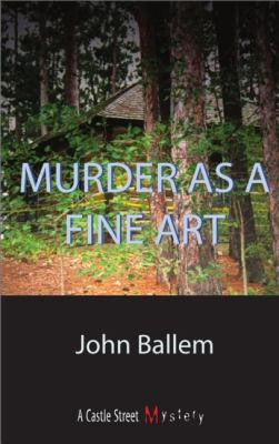 Murder as a Fine Art   2002 9781550023855 Front Cover