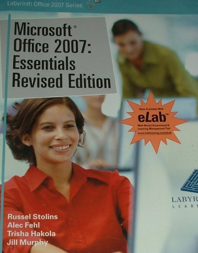 Microsoft Office 2007 Essentials Revised  edition cover