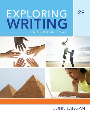 Exploring Writing Paragraphs and Essays 2nd 2010 edition cover