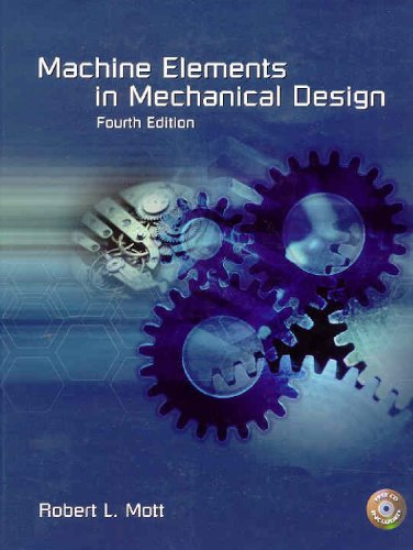 Machine Elements in Mechanical Design  4th 2004 edition cover
