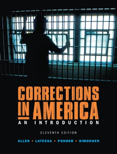 Corrections in America  11th 2007 (Revised) edition cover