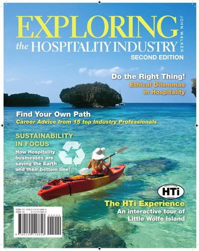 Exploring the Hospitality Industry  2nd 2012 (Revised) edition cover
