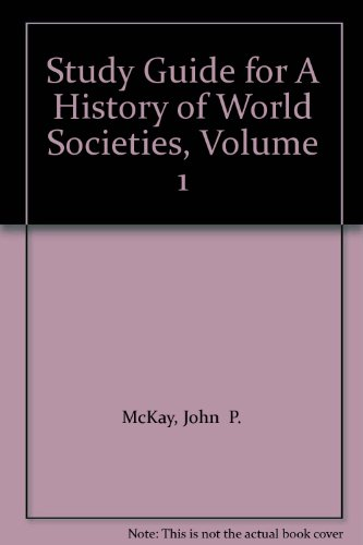 A History of World Societies:  6th 2003 9780312683856 Front Cover