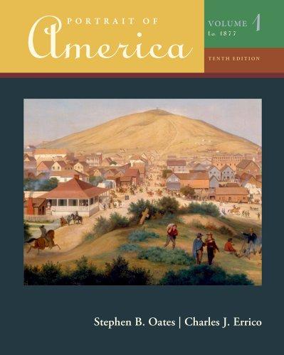 Portrait of America, Volume I  10th 2011 edition cover