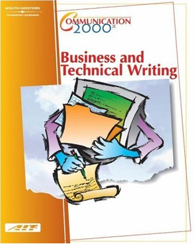 Communication 2000 Business and Technical Writing 2nd 2002 (Revised) 9780538432856 Front Cover