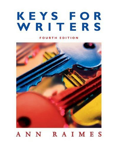 Keys for Writers  4th 2005 edition cover
