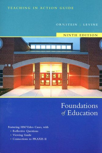 Foundations of Education Media Guide for Packaging 9th 2007 9780618747856 Front Cover