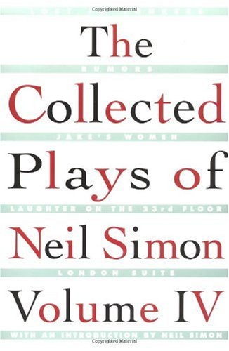 Collected Plays of Neil Simon   1998 edition cover
