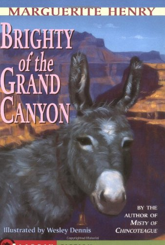 Brighty of the Grand Canyon  2nd 1991 (Reprint) edition cover