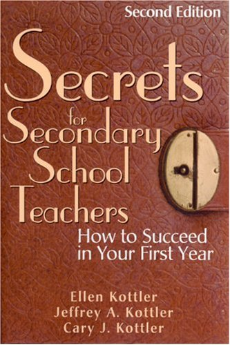 Secrets for Secondary School Teachers How to Succeed in Your First Year 2nd 2004 (Revised) edition cover