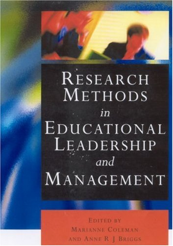 Research Methods in Educational Leadership and Management   2002 9780761971856 Front Cover