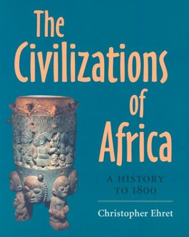 Civilizations of Africa A History to 1800  2002 edition cover