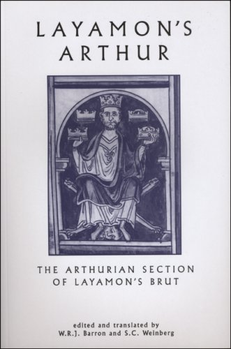 Layamon's Arthur The Arthurian Section of Layamon's Brut 2nd 2001 edition cover