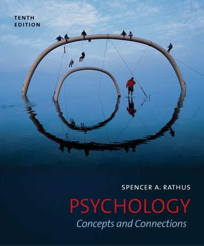 Psychology Concepts and Connections 10th 2012 edition cover