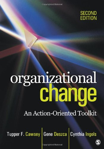 Organizational Change An Action-Oriented Toolkit 2nd 2012 edition cover