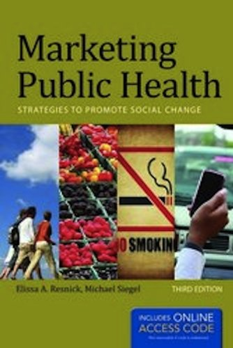 Marketing Public Health  3rd 2013 edition cover