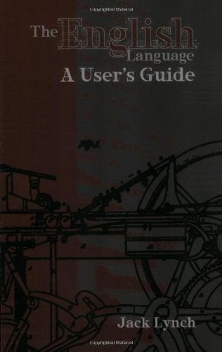 English Language A User's Guide N/A 9781585101856 Front Cover