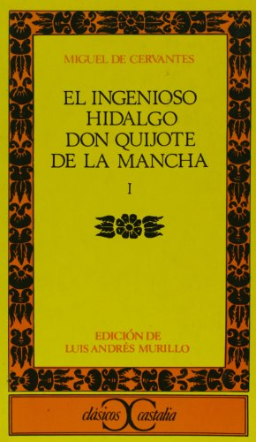 Don Quijote de la Mancha I   2001 edition cover