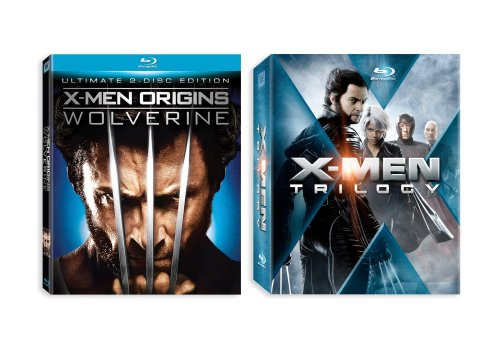 X-Men Trilogy + X-Men Origins: Wolverine [Blu-ray] System.Collections.Generic.List`1[System.String] artwork