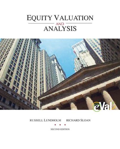 Equity Valuation and Analysis with EVal  2nd 2007 edition cover