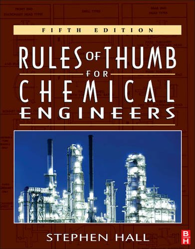 Rules of Thumb for Chemical Engineers  5th 2012 edition cover