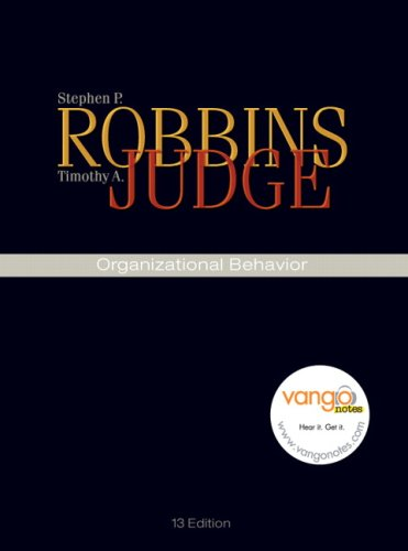 ORGANIZATIONAL BEHAVIOR-W/CD+ACCESS N/A edition cover