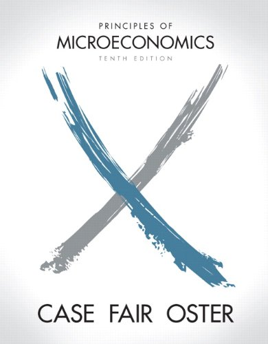 Principles of Microeconomics  10th 2012 edition cover