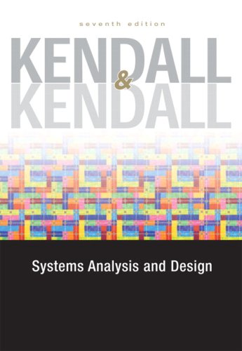Systems Analysis and Design  7th 2008 9780132240857 Front Cover