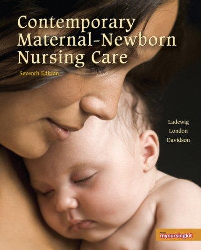 Contemporary Maternal-Newborn Nursing  7th 2010 edition cover