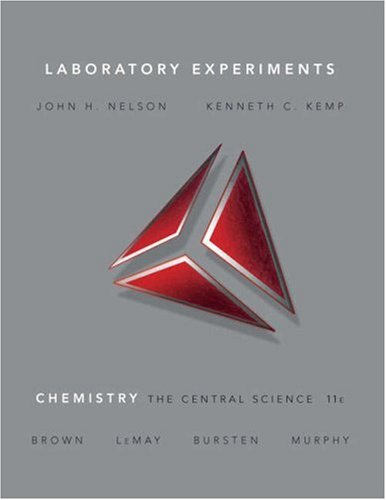 Laboratory Experiments for Chemistry The Central Science 11th 2009 9780136002857 Front Cover