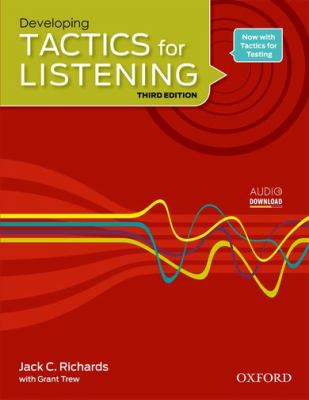TACTICS FOR LISTENING DEVELOPING: STUDENT'S BOOK 3RD EDITION  3rd 2010 9780194013857 Front Cover