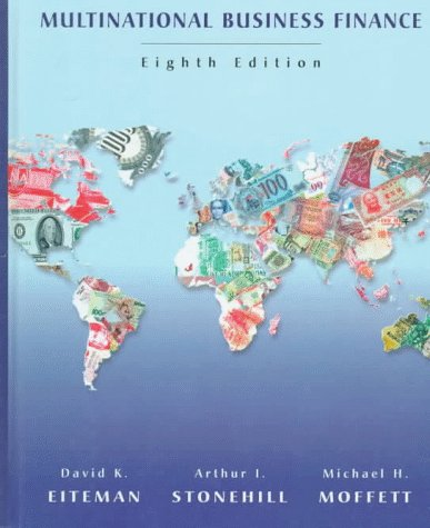 Multinational Business Finance  8th 1998 edition cover