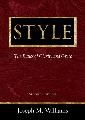Style The Basics of Clarity and Grace 2nd 2006 (Revised) edition cover