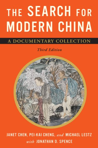 The Search for Modern China: A Documentary Collection  2013 edition cover