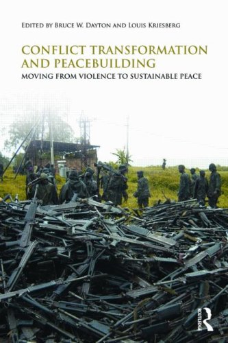 Conflict Transformation and Peacebuilding Moving from Violence to Sustainable Peace  2009 edition cover