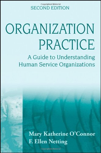 Organization Practice A Guide to Understanding Human Service Organizations 2nd 2009 edition cover