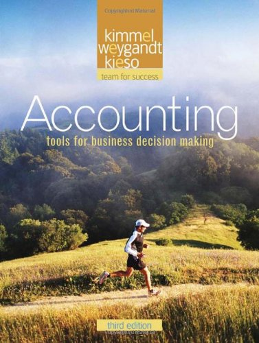 Accounting  3rd 2009 edition cover