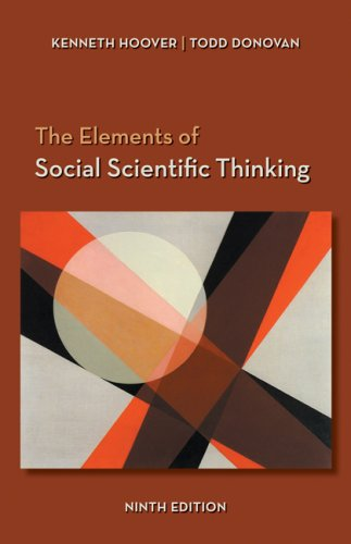 Elements of Social Scientific Thinking  9th 2008 (Revised) edition cover