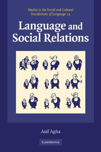 Language and Social Relations   2006 edition cover