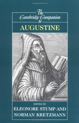 Cambridge Companion to Augustine   2001 edition cover