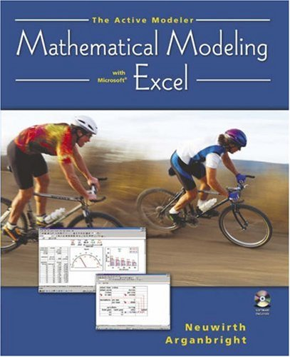Active Modeler Mathematical Modeling with Microsoft Excel  2004 9780534420857 Front Cover