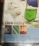 GENERAL CHEM 111/112 LAB.MAN.> N/A 9780738051857 Front Cover