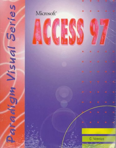 Microsoft Access 97 1st 9780763800857 Front Cover