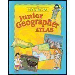 Junior Geographer Atlas:  1st 2002 edition cover